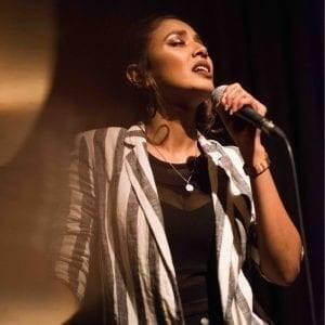 Singer Evelyn Feroza