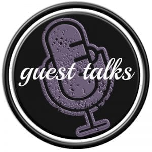 Guest Talks Podcasts Logo