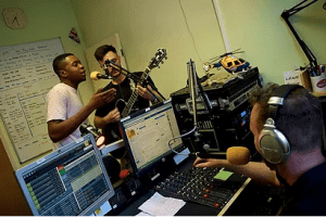 Band in Radio Show