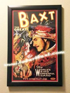 Poster of magician robert baxt